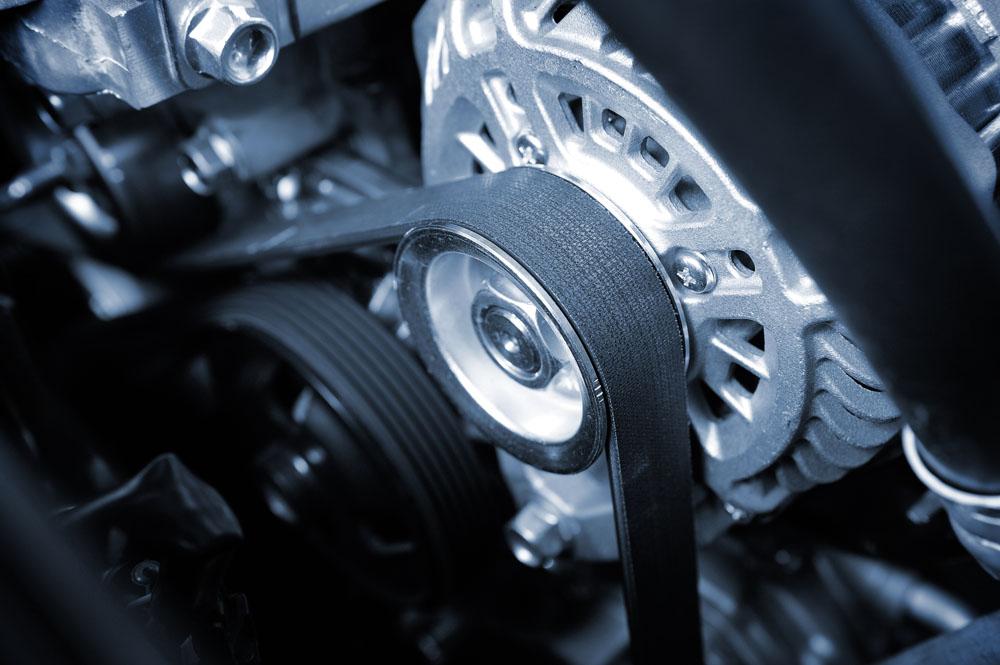 image of engine belts