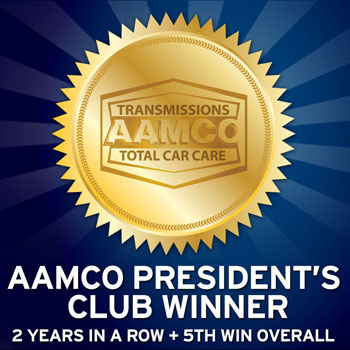 image of AAMCO President's club badge