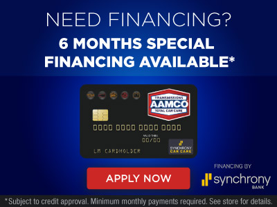 image of AAMCO Financing with My Synchrony