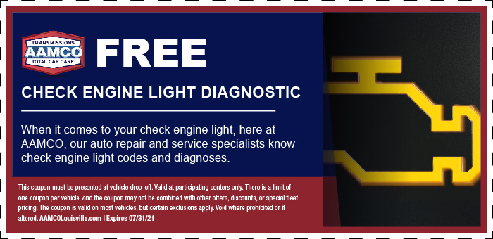 Image of Free check Engine Light Coupon