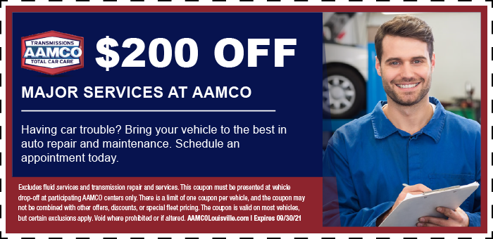 Image of $200 off major services coupon